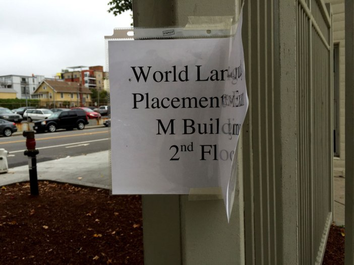 World Languages Placement Test