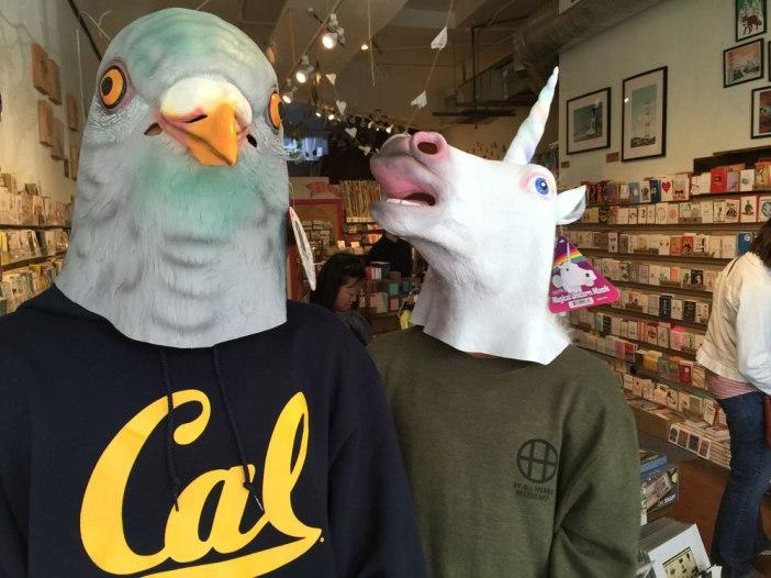 Taube und Einhorn