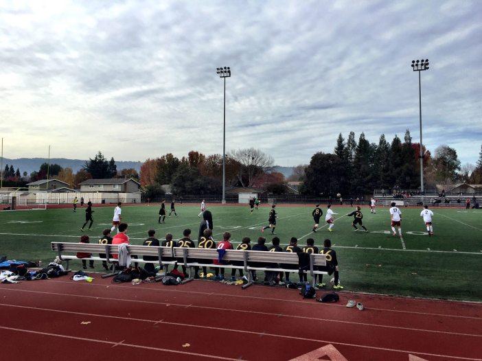 Soccer match BHS Freshmen